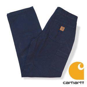 Carhartt Men's Washed Duck Work Pants 31x34
